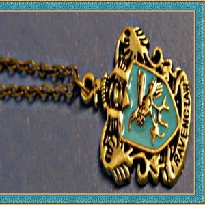 Harry Potter Ravenclaw Crest Inspired Necklace